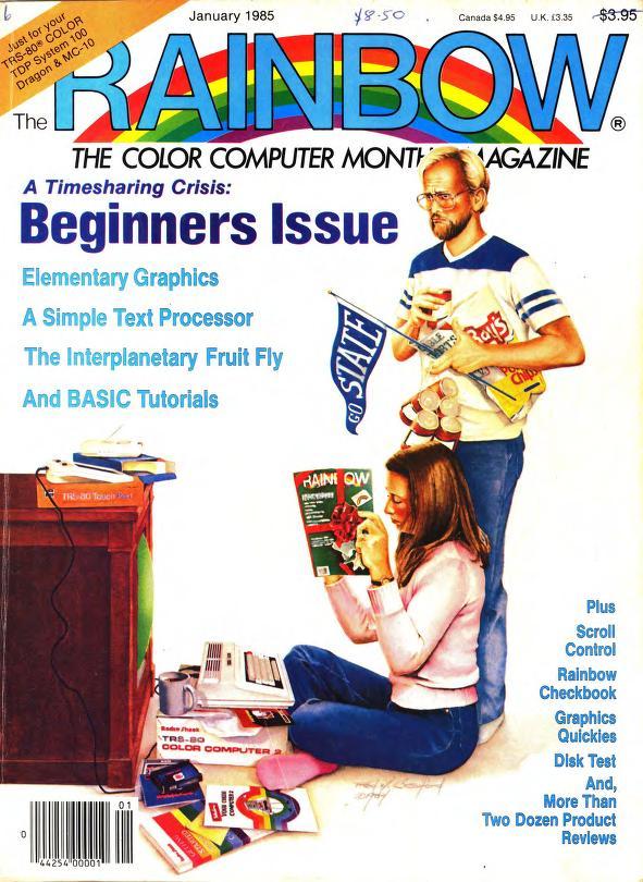 The RAINBOW Magazine 1985 - CoCopedia - The Tandy/Radio