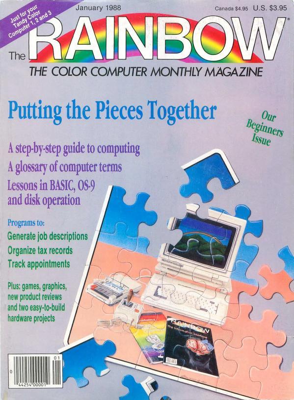 The RAINBOW Magazine 1988 - CoCopedia - The Tandy/Radio