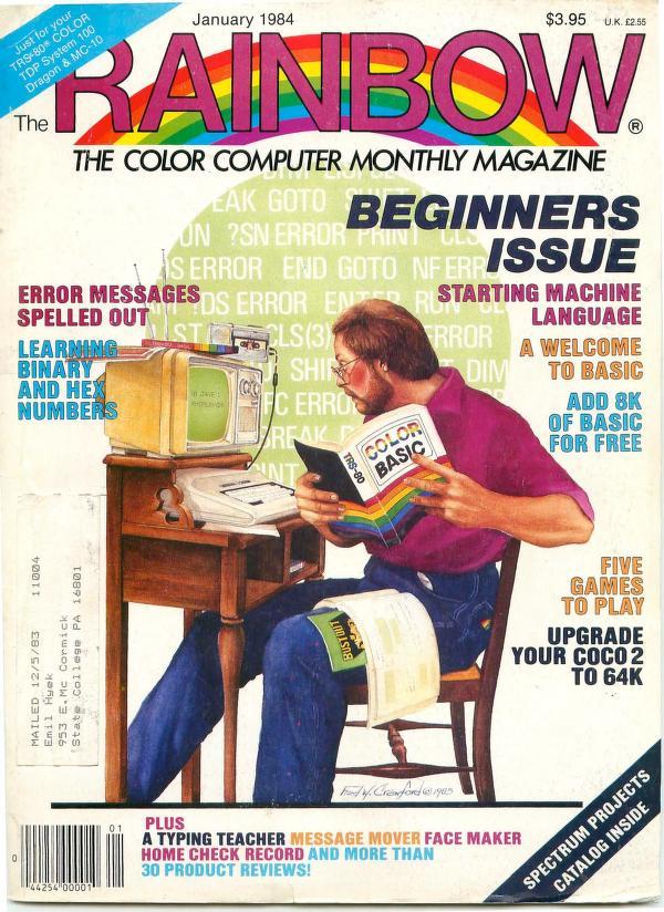 The RAINBOW Magazine 1984 - CoCopedia - The Tandy/Radio