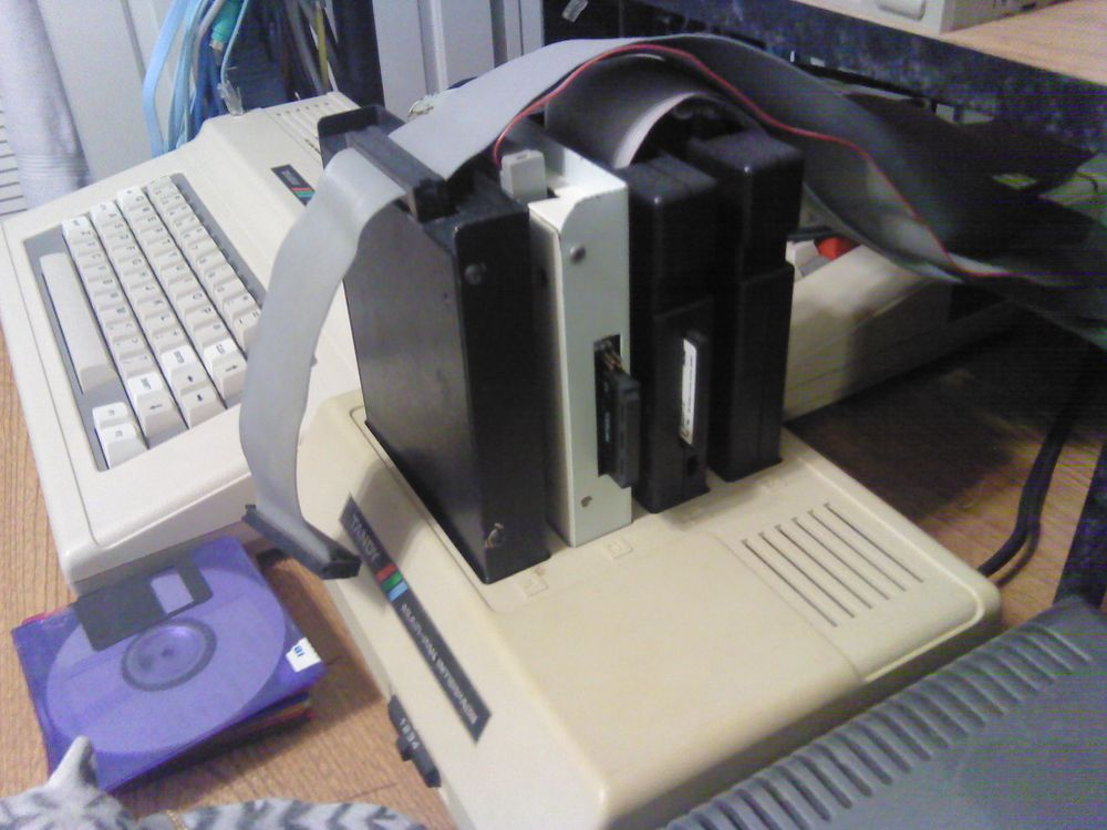 MultiPak with 3 Floppy Drive Controllers and SuperIDE Controller.jpg