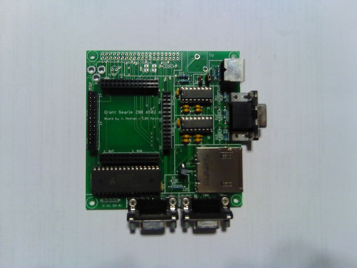Interface PCB with almost all of the needed parts.jpeg