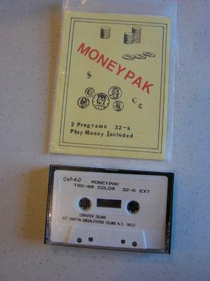 Money Pak - CoCopedia - The Tandy/Radio Shack Color Computer